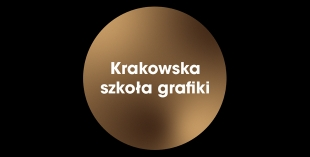 Banner with the words Krakow School of Graphics