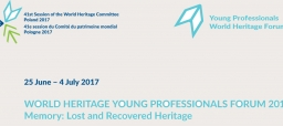 World Heritage Young Professionals Forum 2017